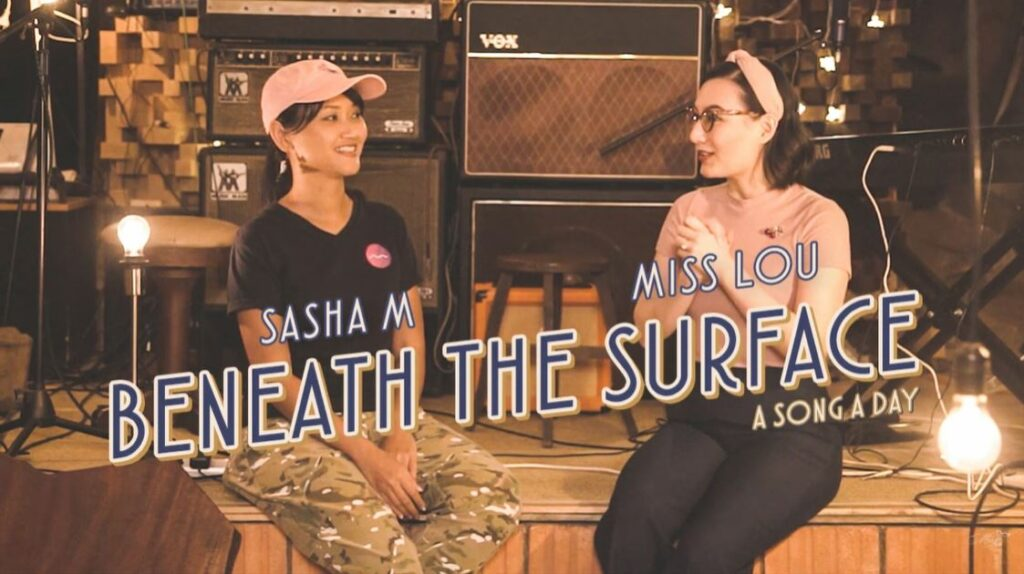 Beneath The Surface cover Sasha M and Miss Lou